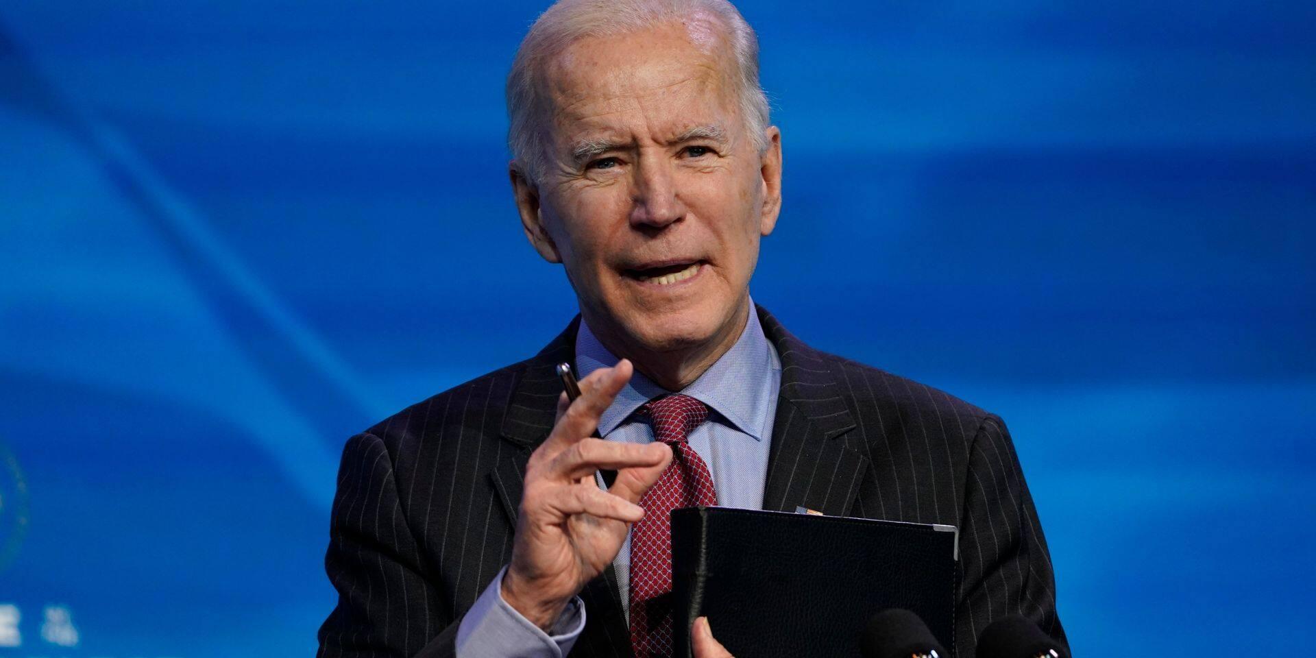 Joe Biden demande au Congrès de travailler sur les priorités malgré le procès