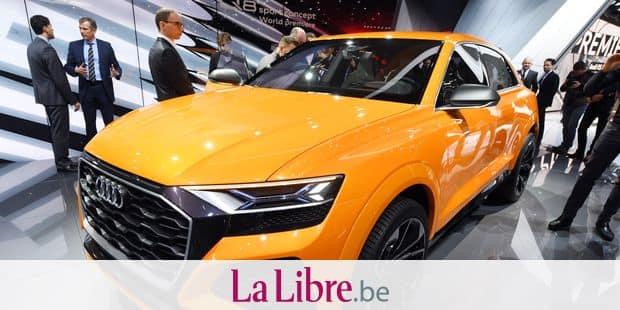 The new Audi Q8 sport concept is presented at the first press day of the Geneva International Motor Show, Switzerland, 7 March 2017. The show has opened its doors for the press and will then do so for the general public from 09.03-19.03.2017. Photo: Uli Deck/dpa
