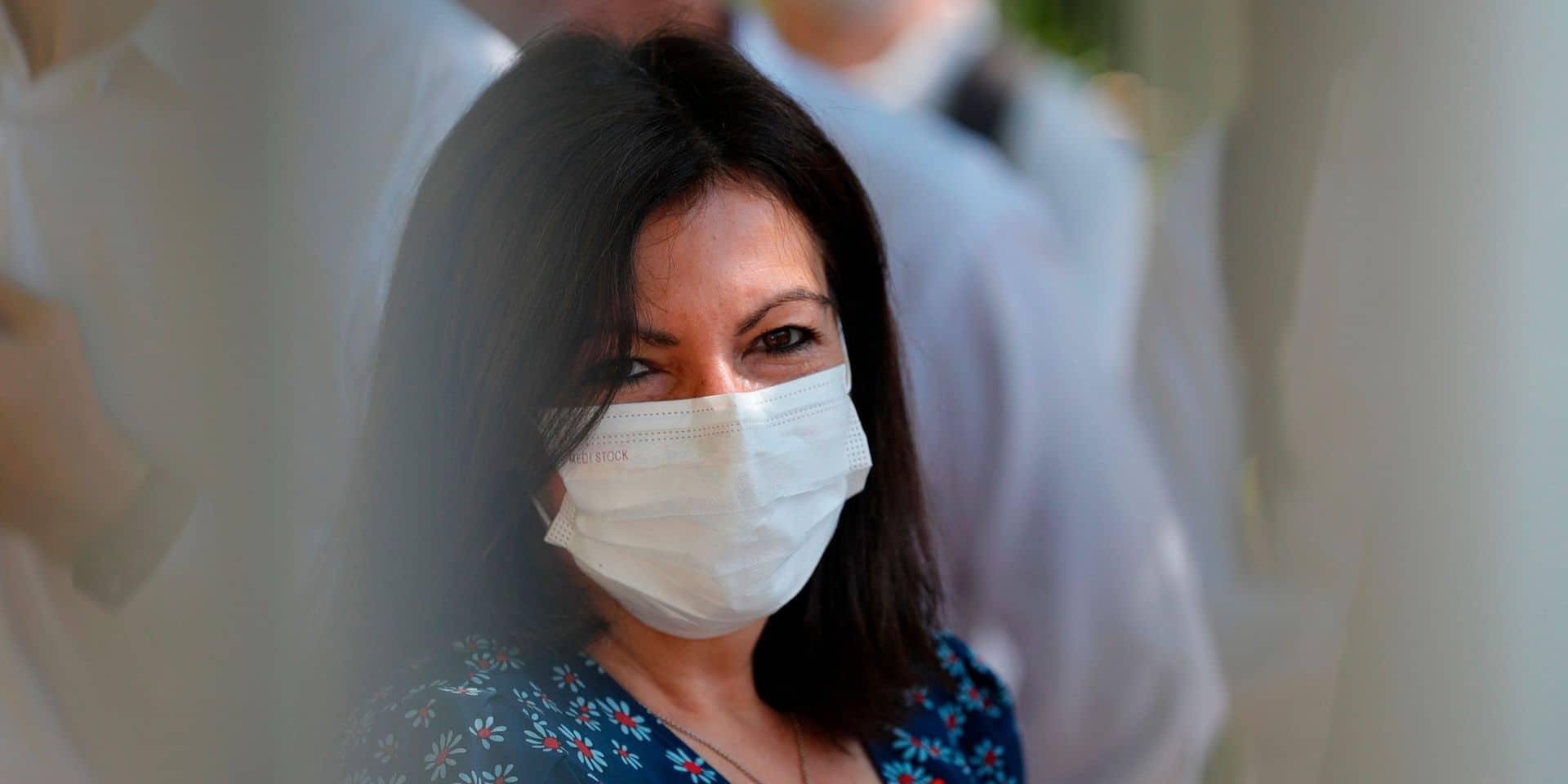 Paris: Hidalgo demande le masque obligatoire dans certains espaces publics