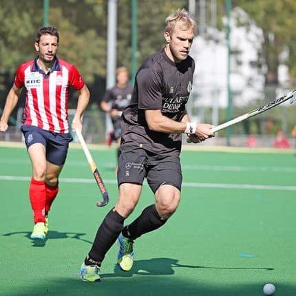 Hockey championnat de Belgique messieurs Racing Connor Harte