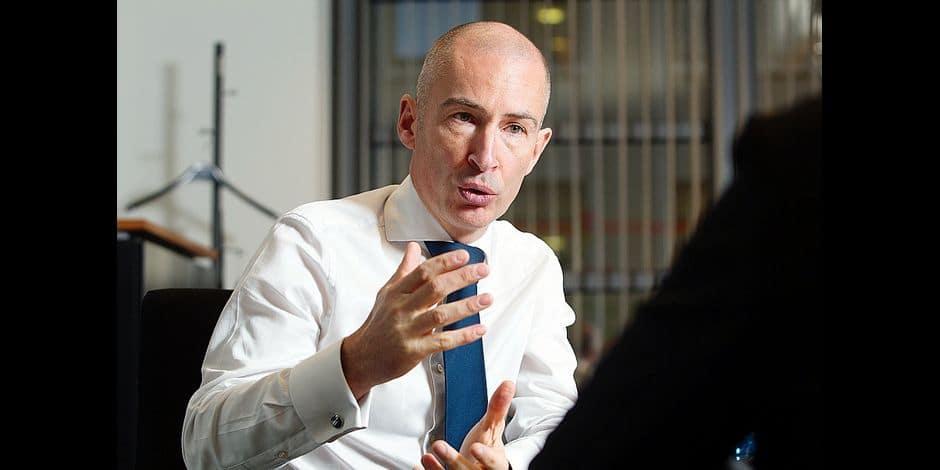 Damien Van Renterghem , CEO de KBC Brussels
