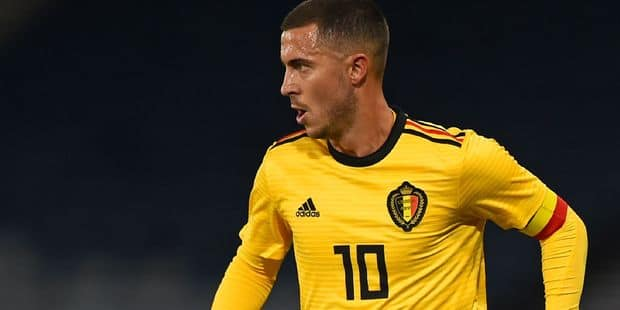Eden Hazard continue de briller avec la Belgique, voici les statistiques qui le prouvent - La Libre