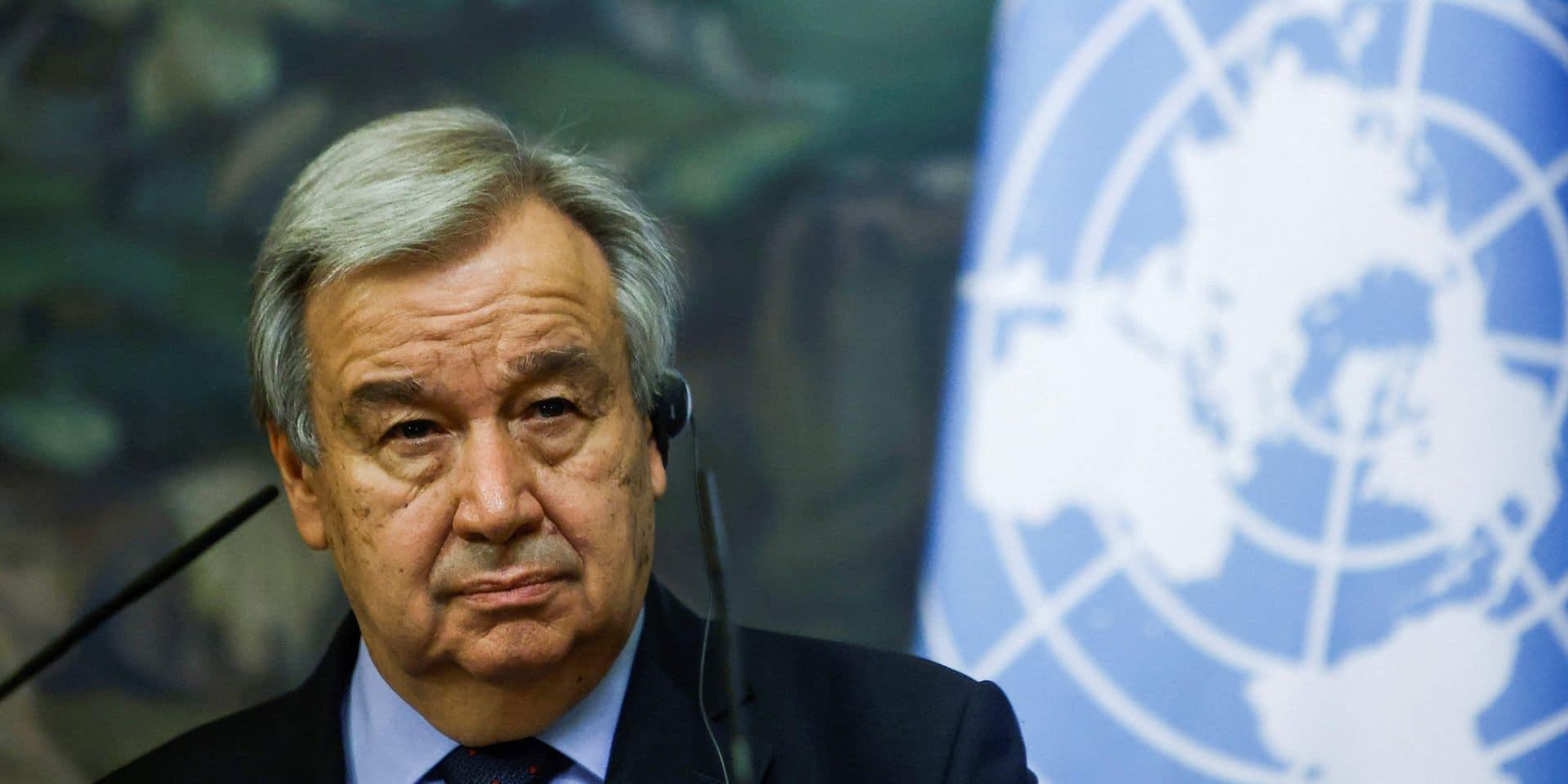 """Antonio Guterres appelle à un cessez-le-feu immédiat entre Israéliens et Palestiniens: """"Je suis profondément choqué"""""""