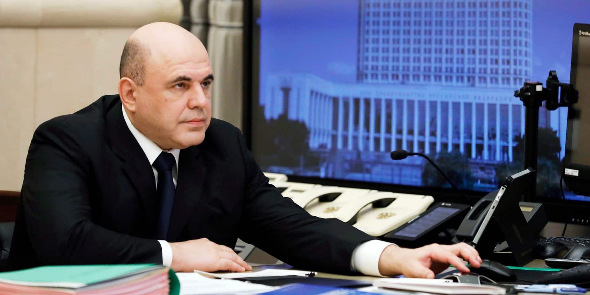 Le Premier ministre russe annonce avoir le coronavirus