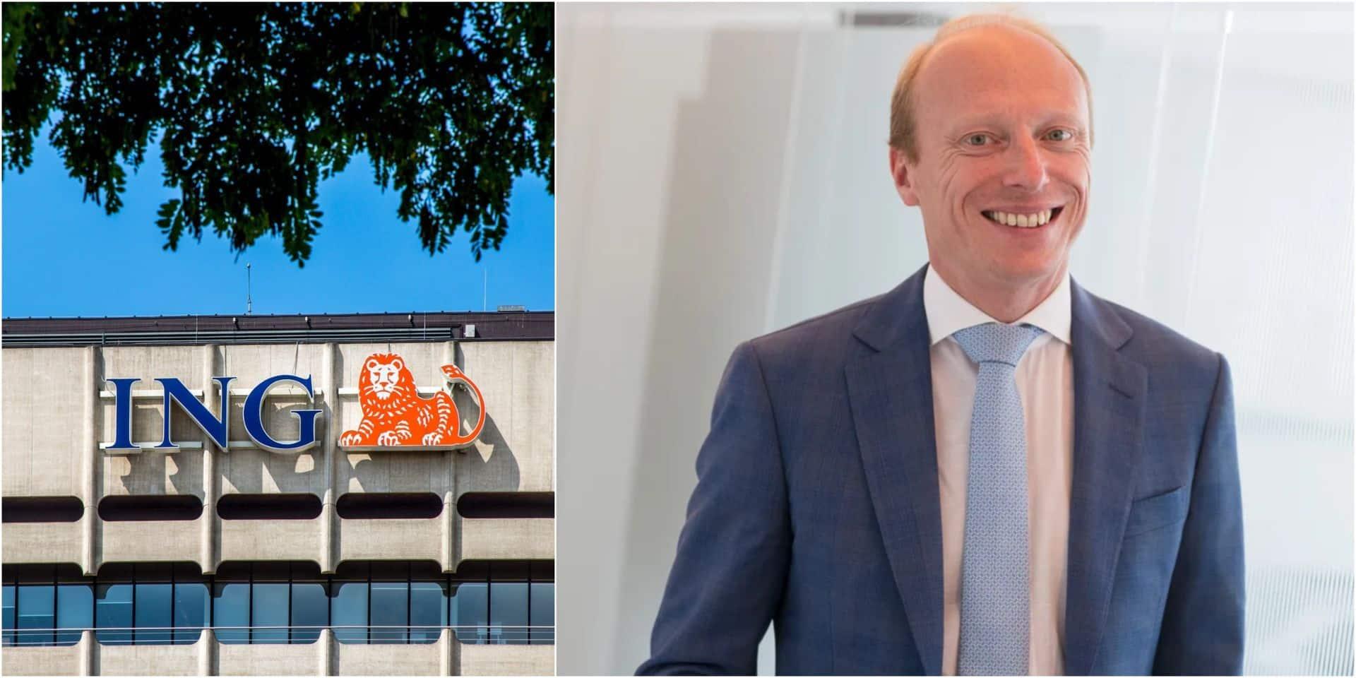 Peter Adams, le nouveau CEO d'ING Belgique, a un profil de consultant