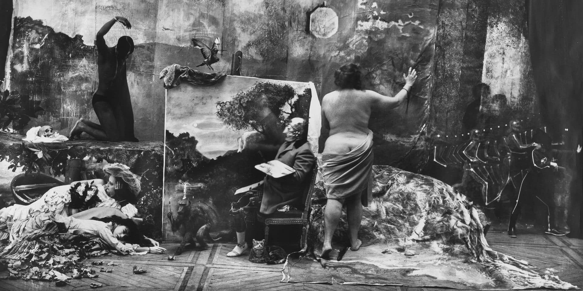 Joel-Peter Witkin at the Charleroi Museum: the photographer's easel
