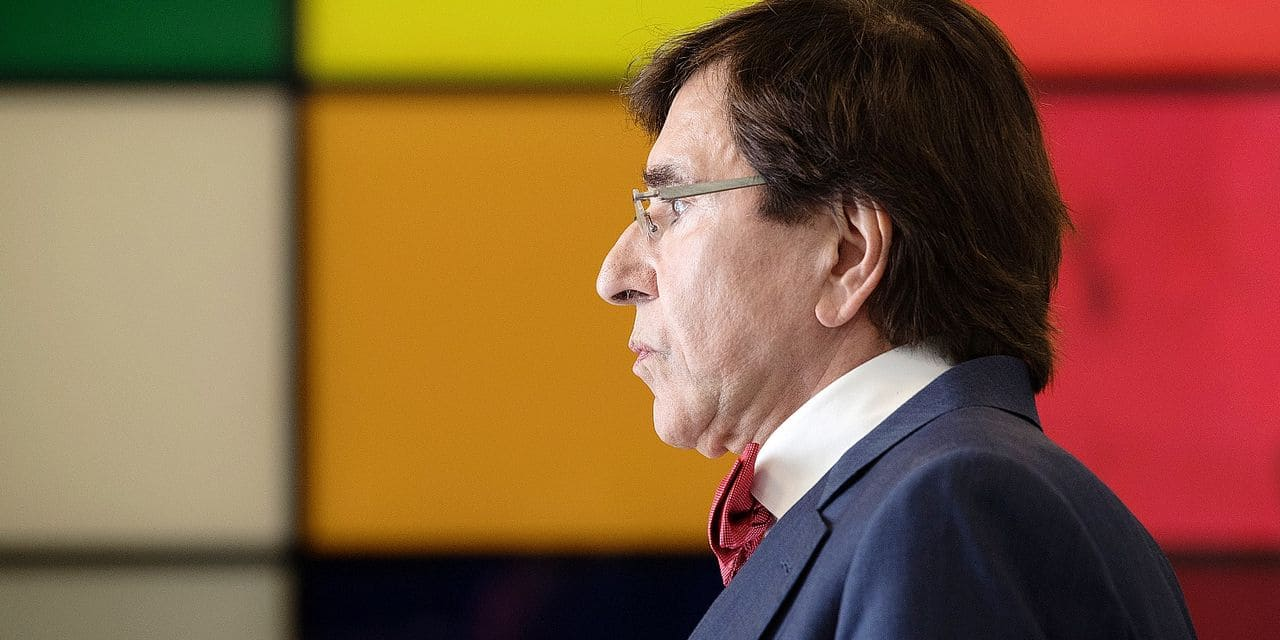 PS chairman Elio Di Rupo pictured ahead of negotiations to form a new Brussels regional Government, Friday 14 June 2019 in Brussels, after last week's elections. PS invited Ecolo and D?©FI for further talks. BELGA PHOTO BENOIT DOPPAGNE negotiations