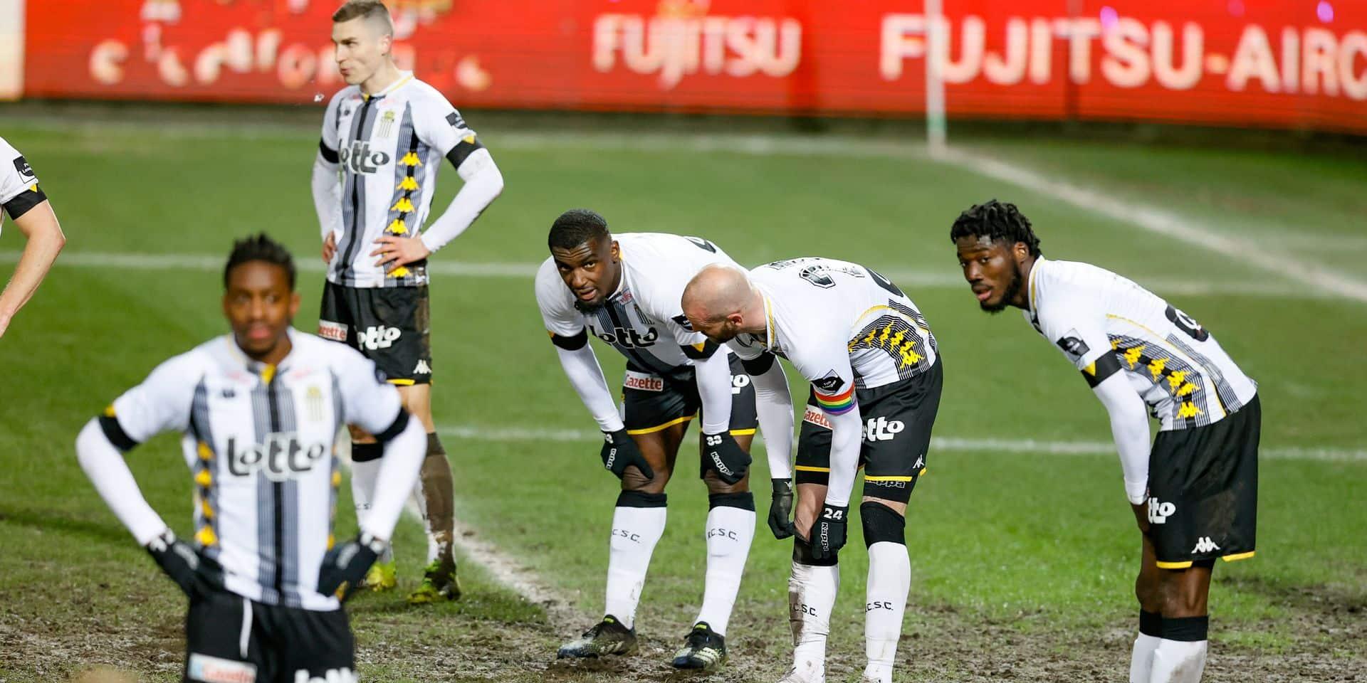 Six joueurs et six membres du staff du Sporting Charleroi testés positifs au Covid-19