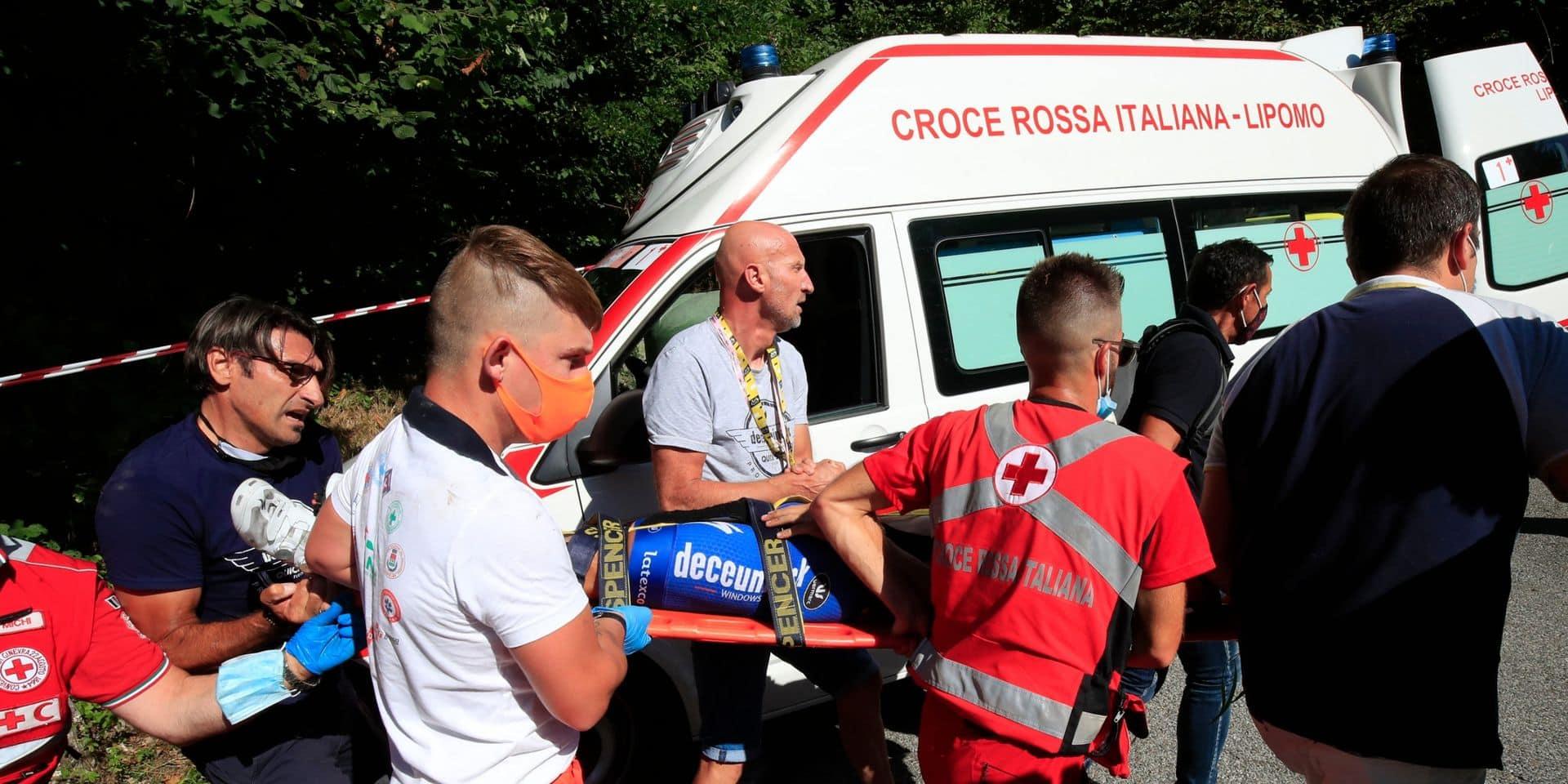 """Quand le danger guette les coureurs cyclistes à chaque virage : """"Il faut vivre en permanence avec ce stress de l'accident"""""""