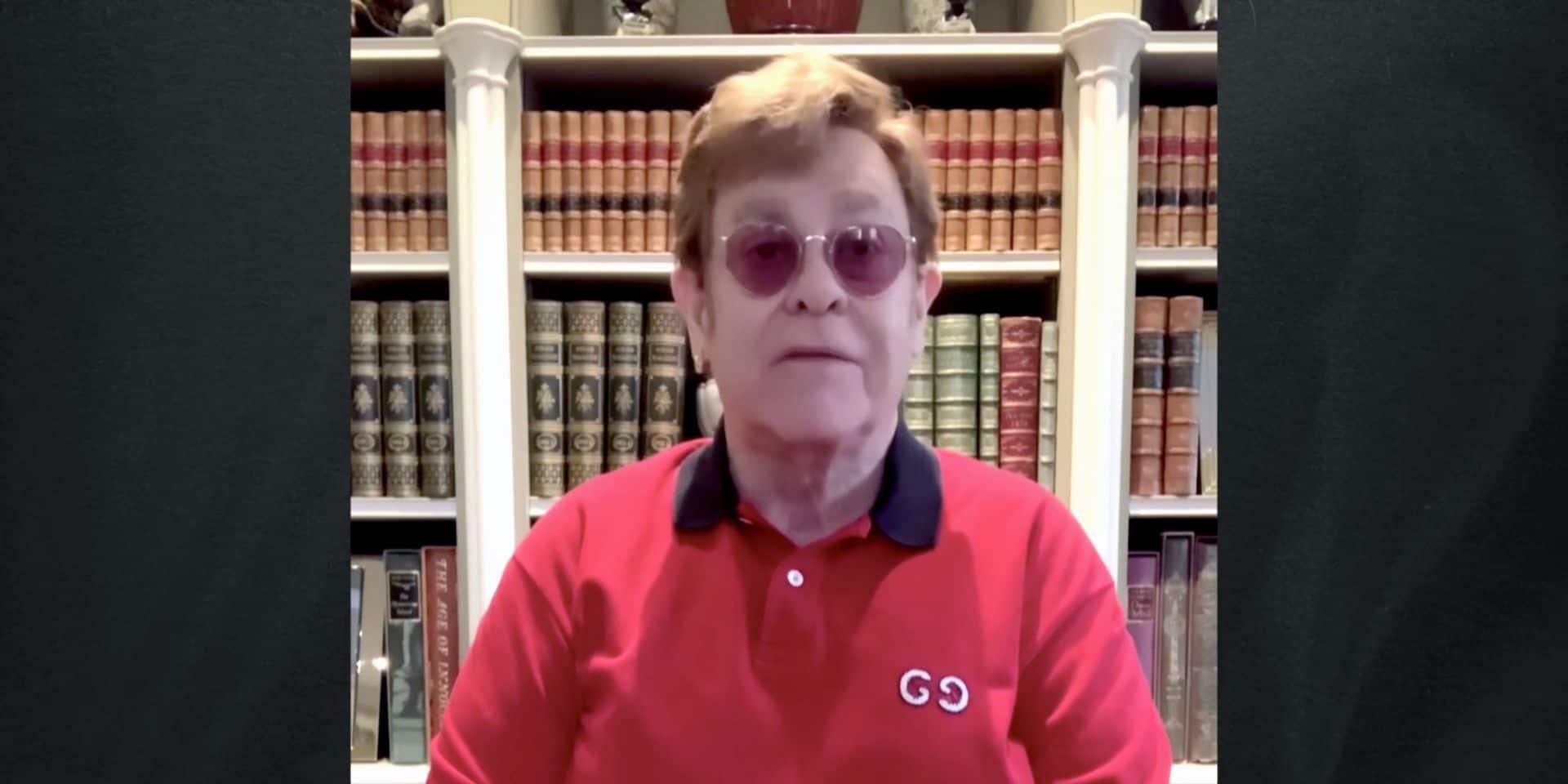 """""""Hypocrisie"""": le coup de gueule d'Elton John contre le Vatican"""