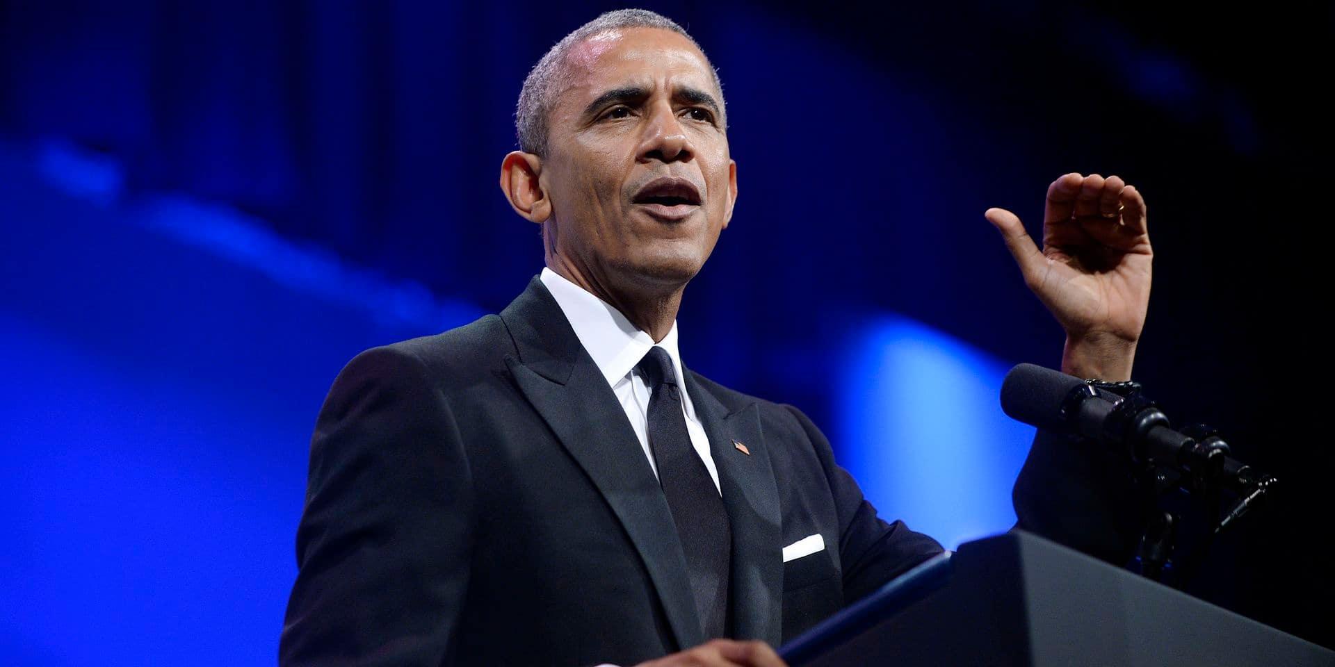 """Barack Obama appelle à rejeter les discours """"normalisant"""" le racisme"""