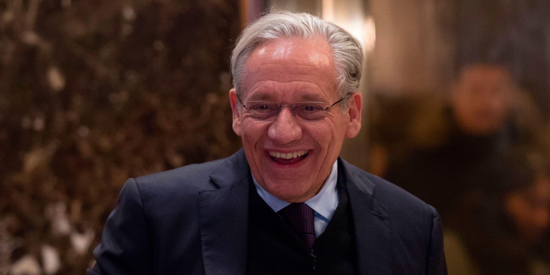 Qui est Bob Woodward, le journaliste du Watergate et auteur du portrait sur Trump ?