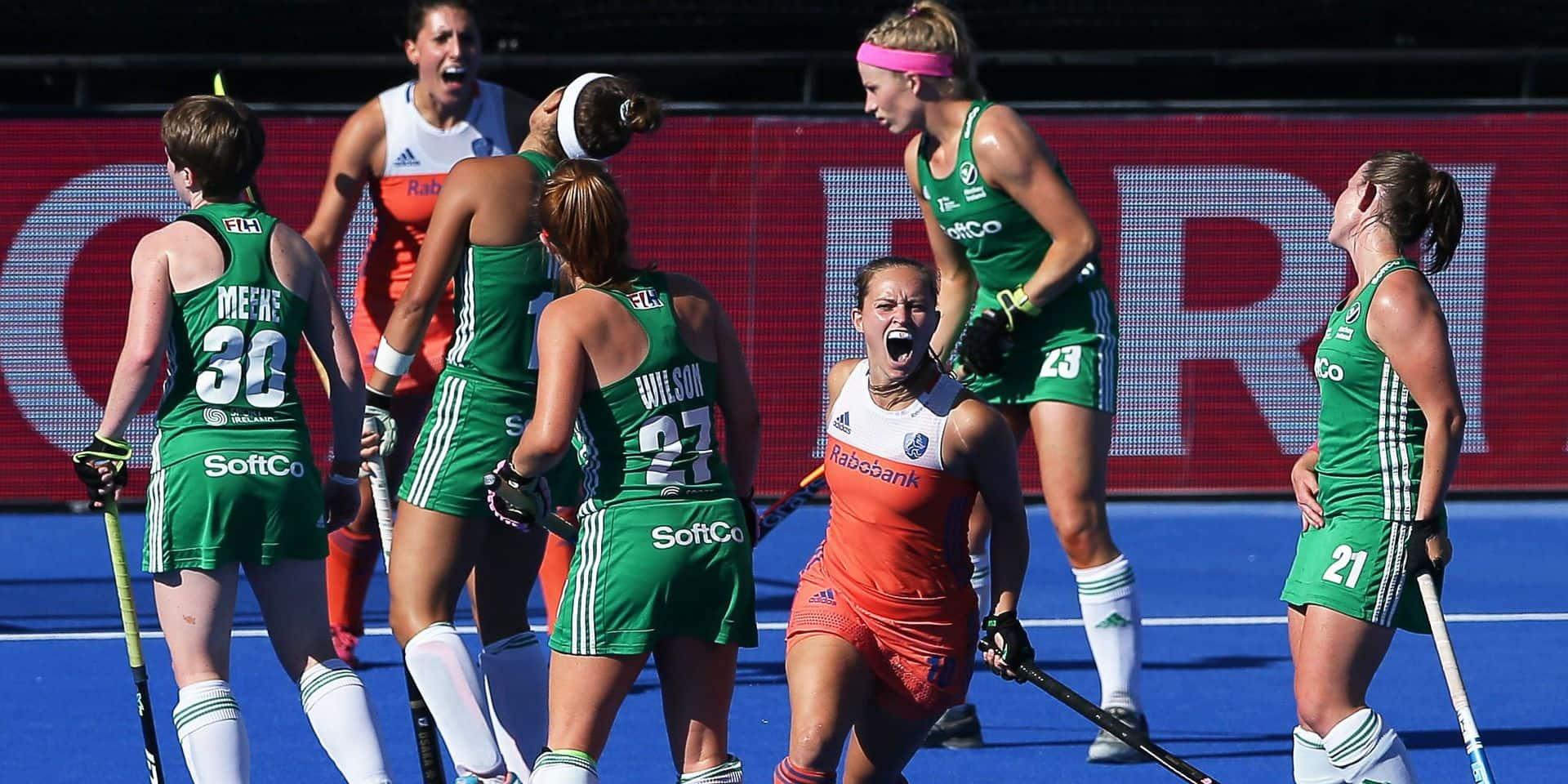 Hockey: les Pays-Bas décrochent le titre mondial féminin en surclassant l'Irlande 6-0