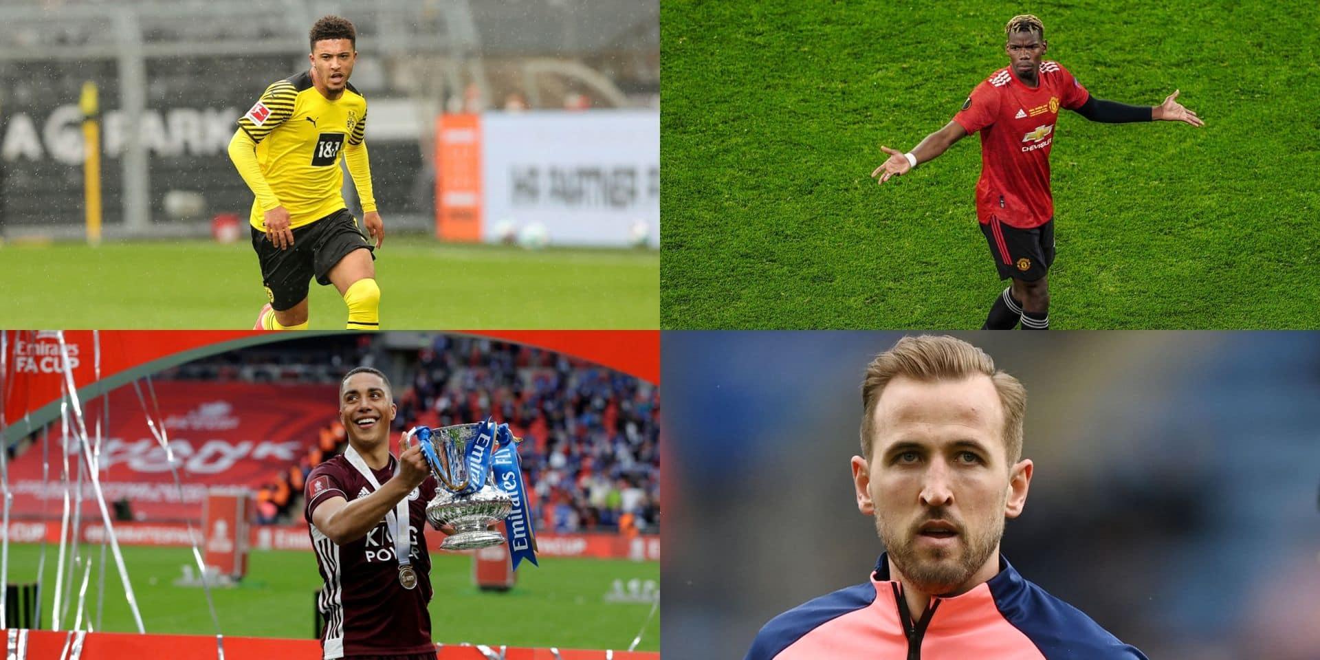 Kane, Pogba, Tielemans, Sancho... le mercato estival sera chaud pour les cadors de Premier League !