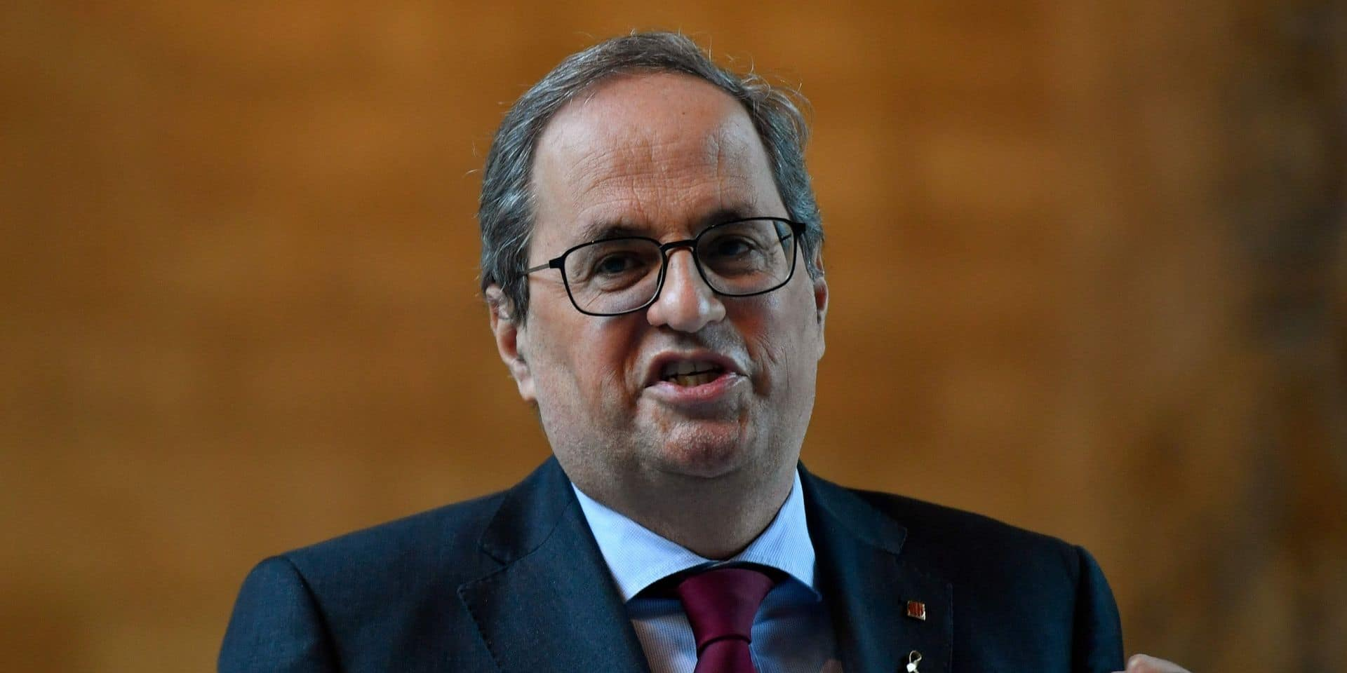 Espagne: le président catalan, Quim Torra, demande l'annulation de sa destitution