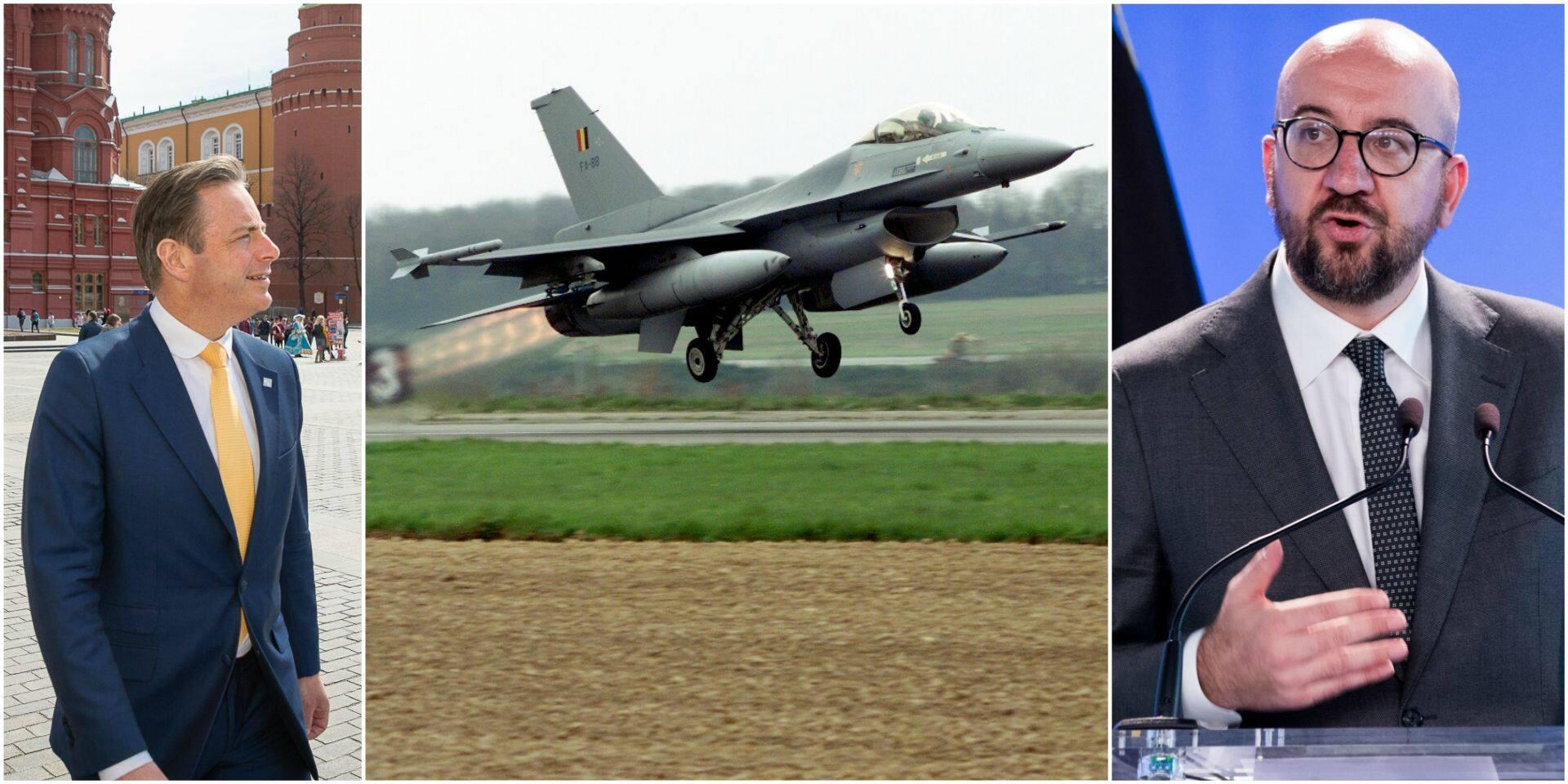 Bart De Wever ne veut pas des Rafale à la place des F-16: Charles Michel maintient le cap, l'opposition dénonce un manque de crédibilité