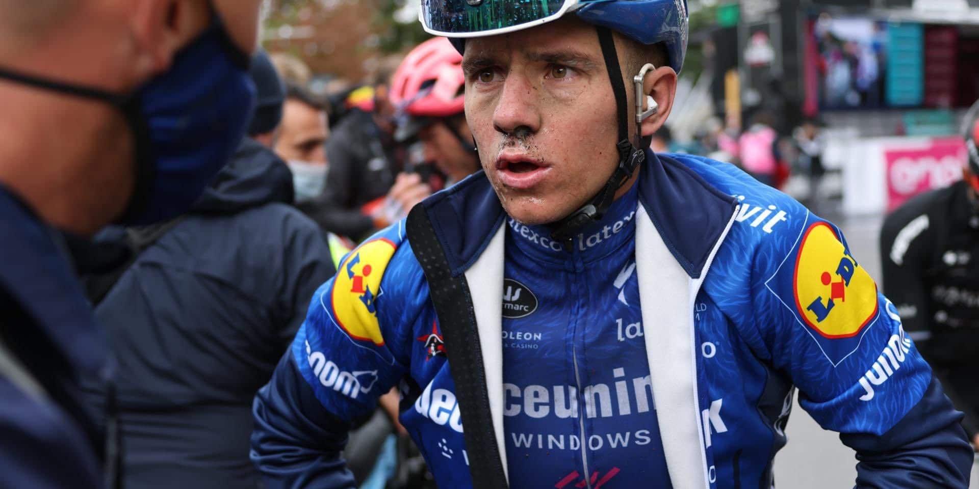En difficulté mais unique leader: la journée contrastée de Remco Evenepoel au Giro