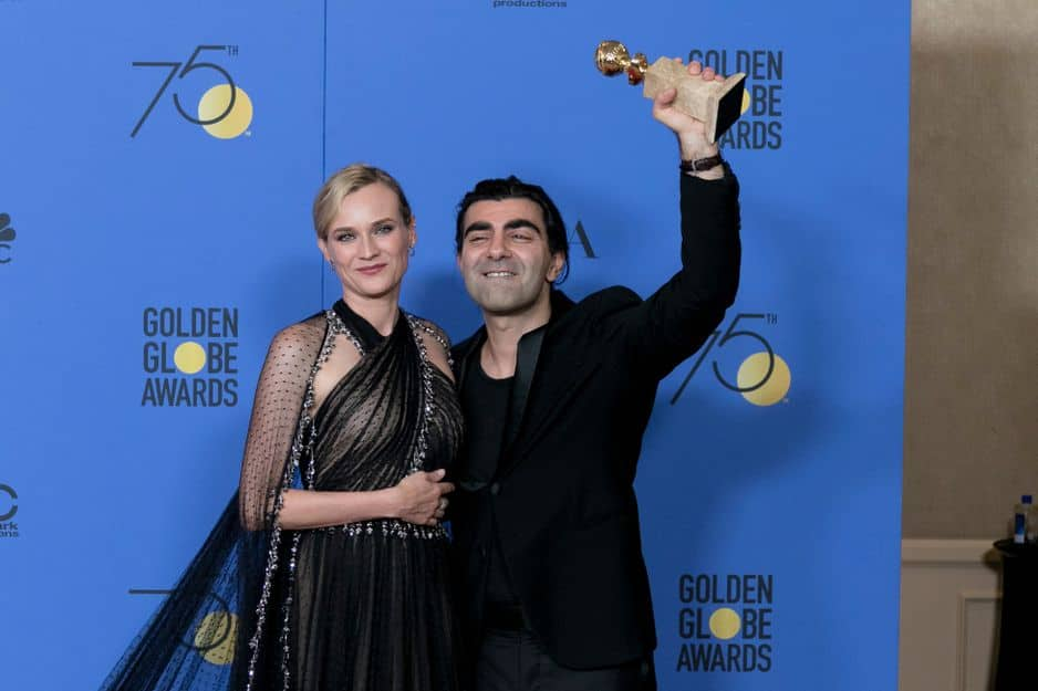 Diane Kruger en Prada, avec Fatih Akin. Le film