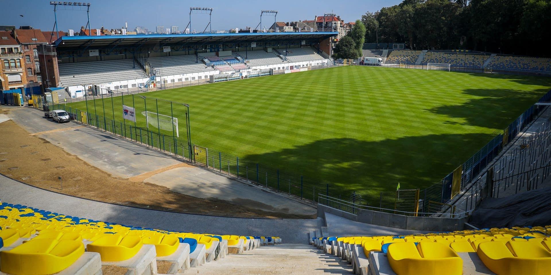 L'Union entame ses travaux d'aménagement pour la D1A et devrait jouer à Malines son dernier match de la saison