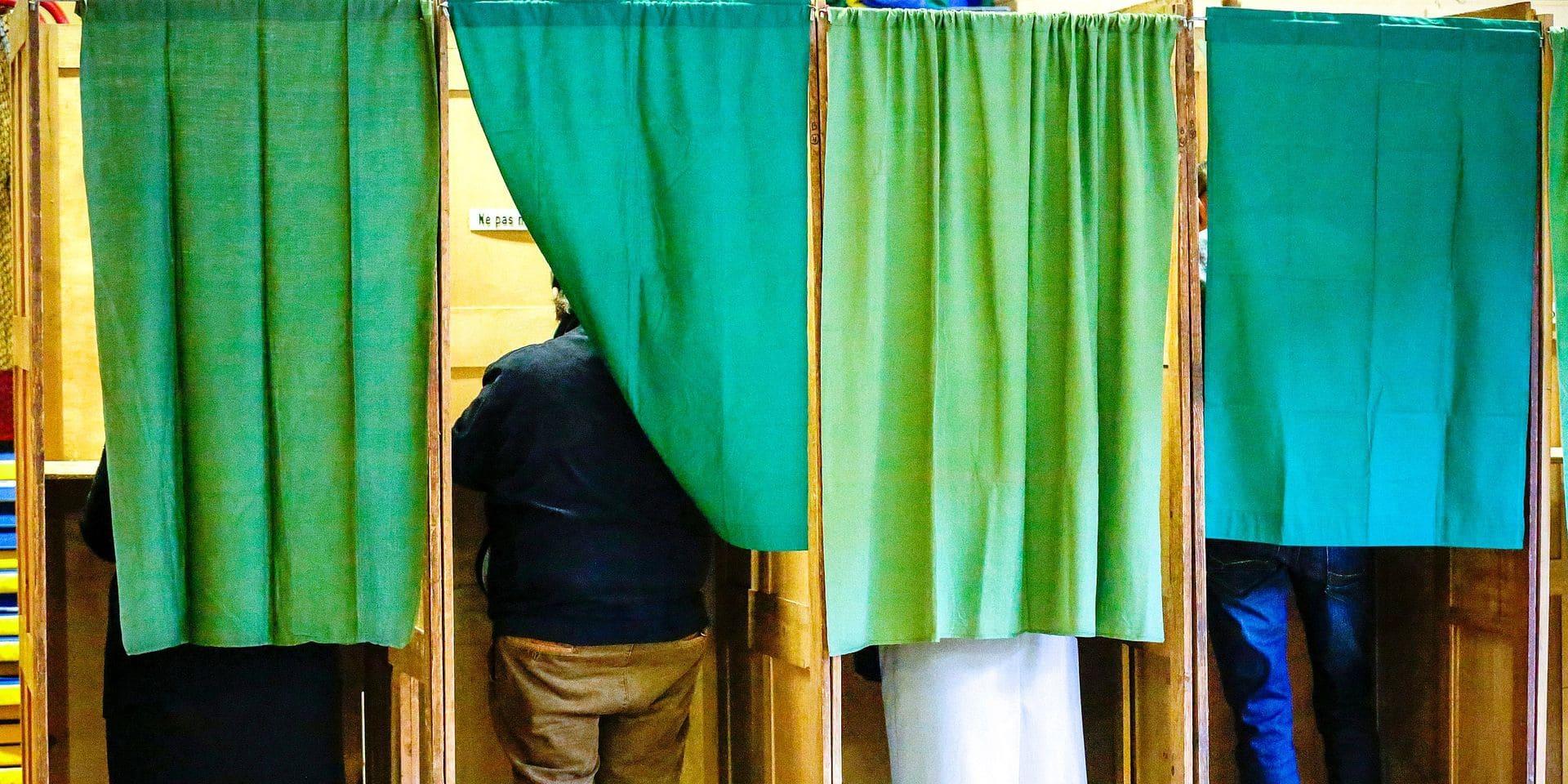 Marche-En-Famenne Local Elections Vote, Marche-En-Famenne, Belgium