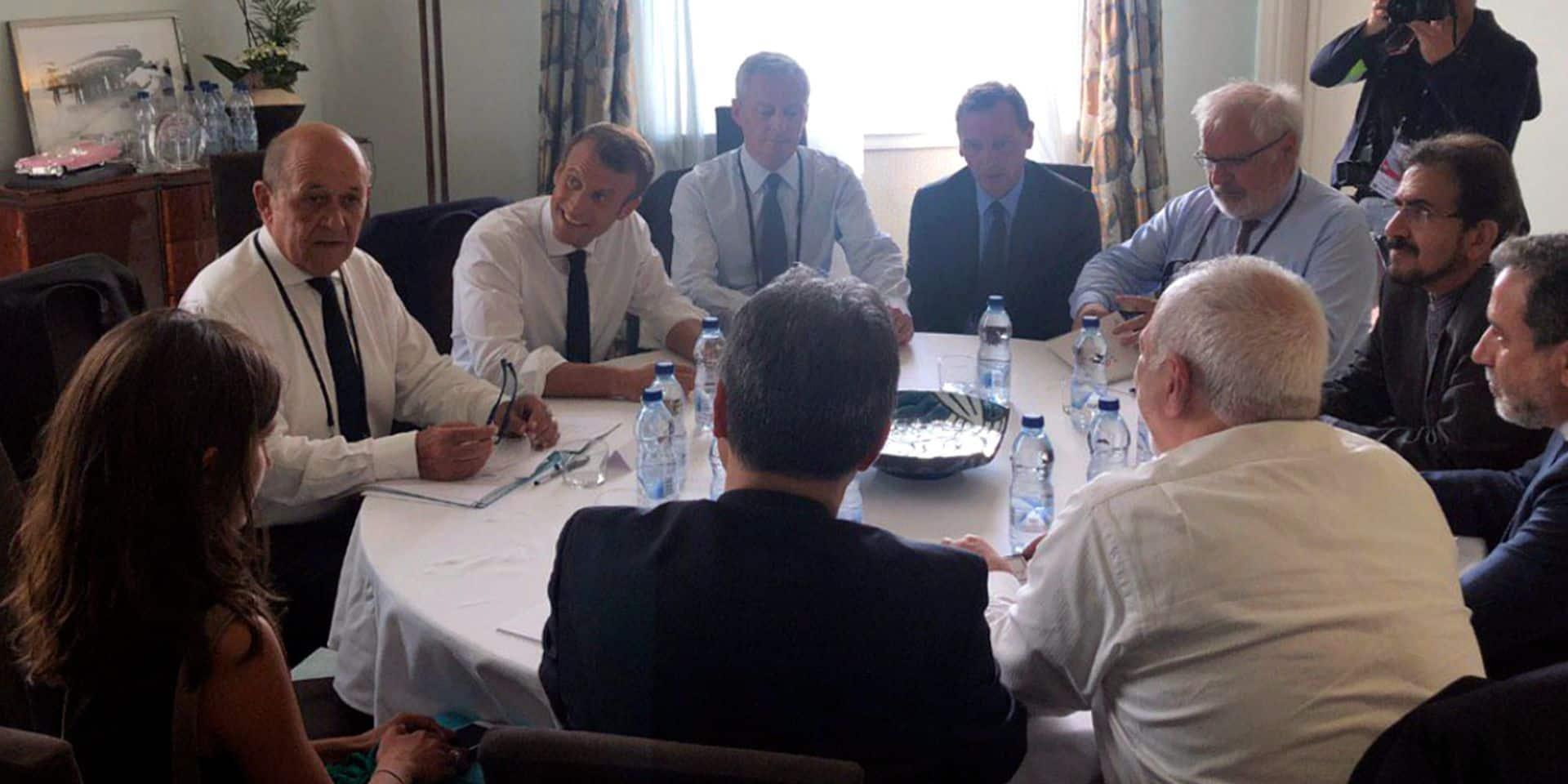 Comment se déroulent les discussions sur le nucléaire iranien en marge du G7