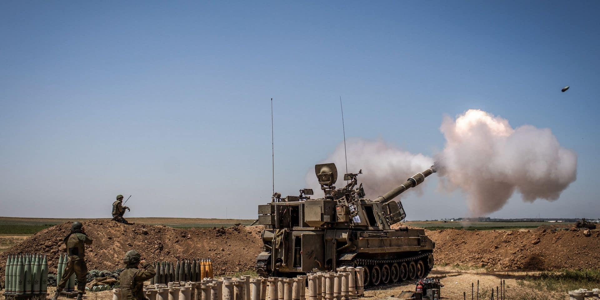 """Huit nouveaux morts à Gaza, le bilan total monte à 227 décès, appel de Biden à une """"désescalade aujourd'hui"""""""