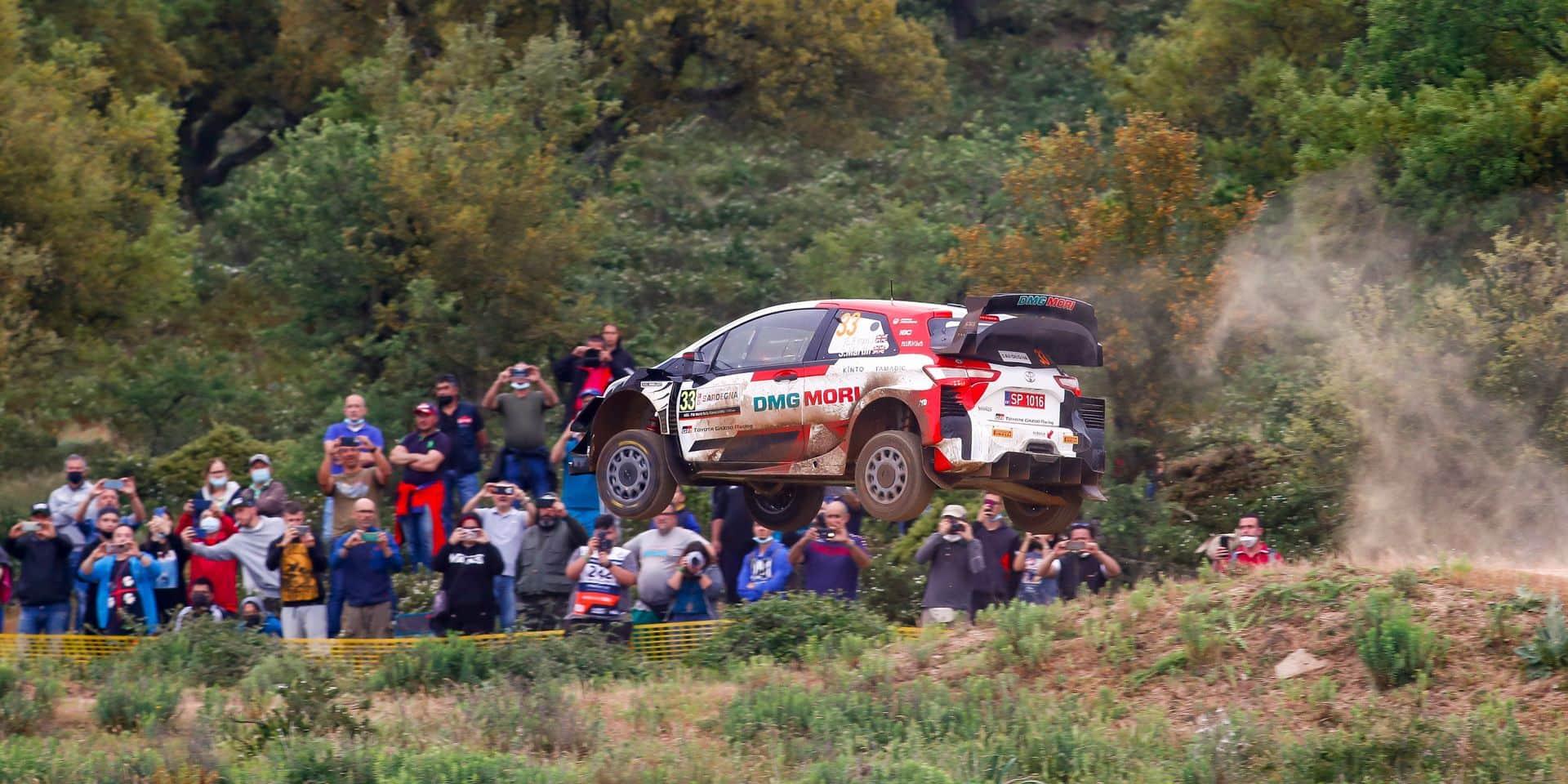 Rallye de Sardaigne : Ogier s'impose par K-O, Neuville 3e limite encore les dégâts