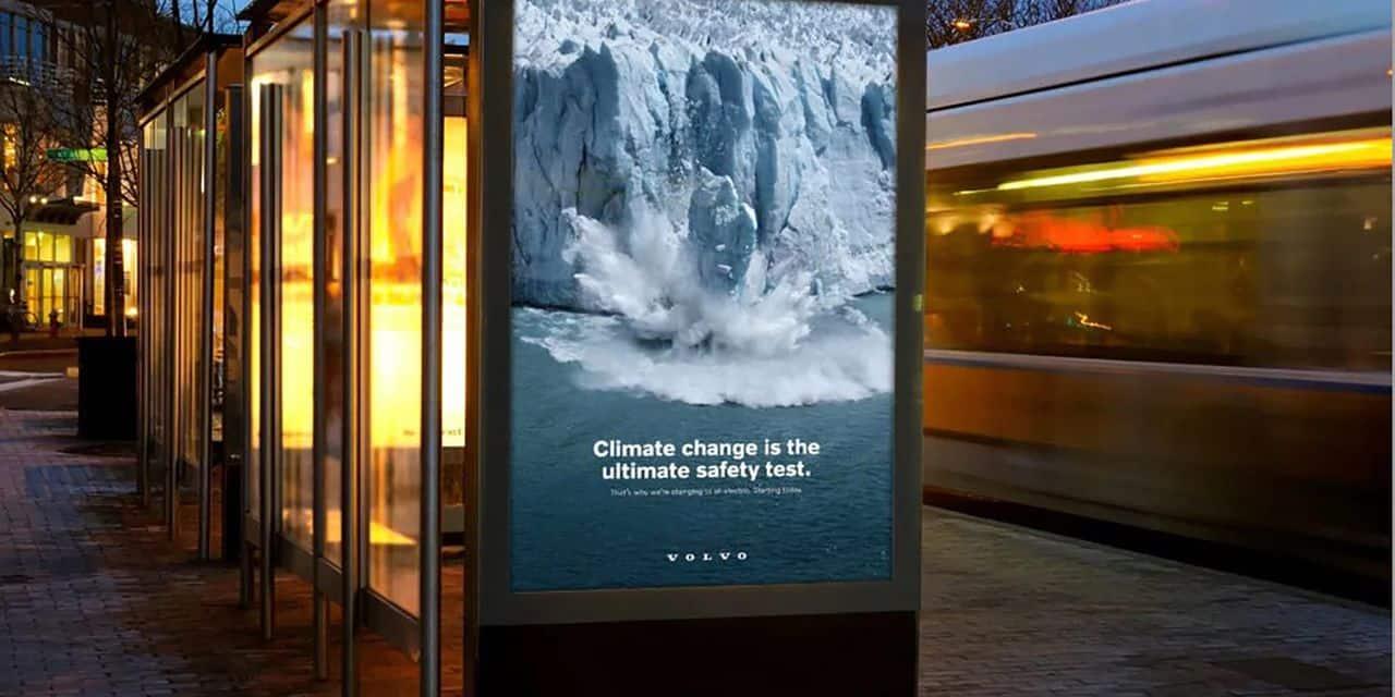 """""""Le changement climatique, c'est le test de sécurité ultime"""", met en avant Volvo dans sa nouvelle campagne"""