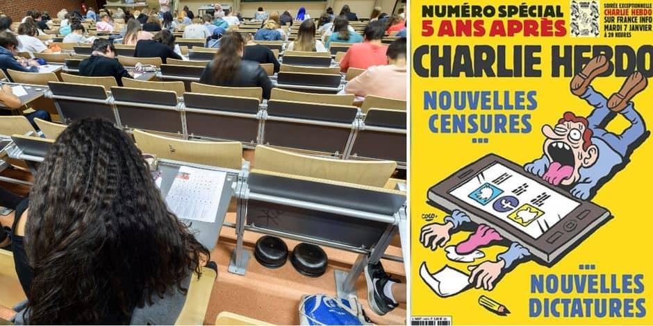 """""""L'ULB se rend honteusement complice de ces réactionnaires"""": des étudiants s'élèvent contre la venue de Charlie Hebdo sur le campus"""