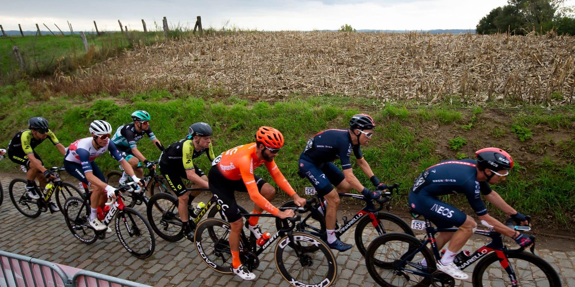 Le calendrier cycliste 2021 perturbé par le Covid-19: vers des classiques à huis clos
