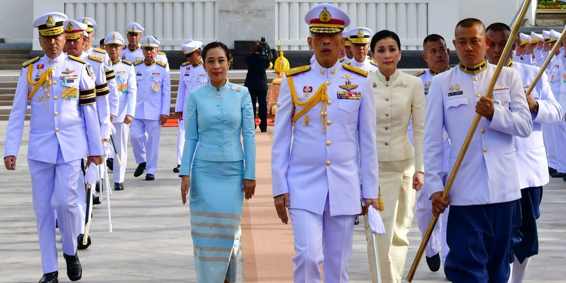 Rama X de Thaïlande: ce changement de look radical qu'il vient d'imposer à sa fille aînée