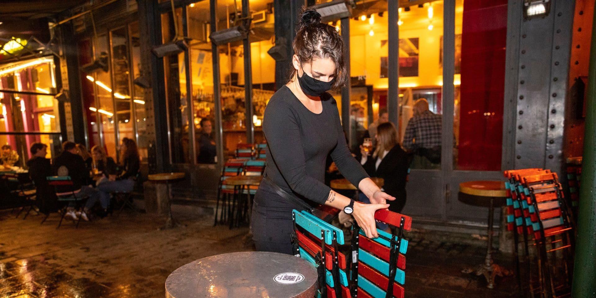 Une aide économique en préparation pour les bars et les cafés bruxellois obligés de fermer