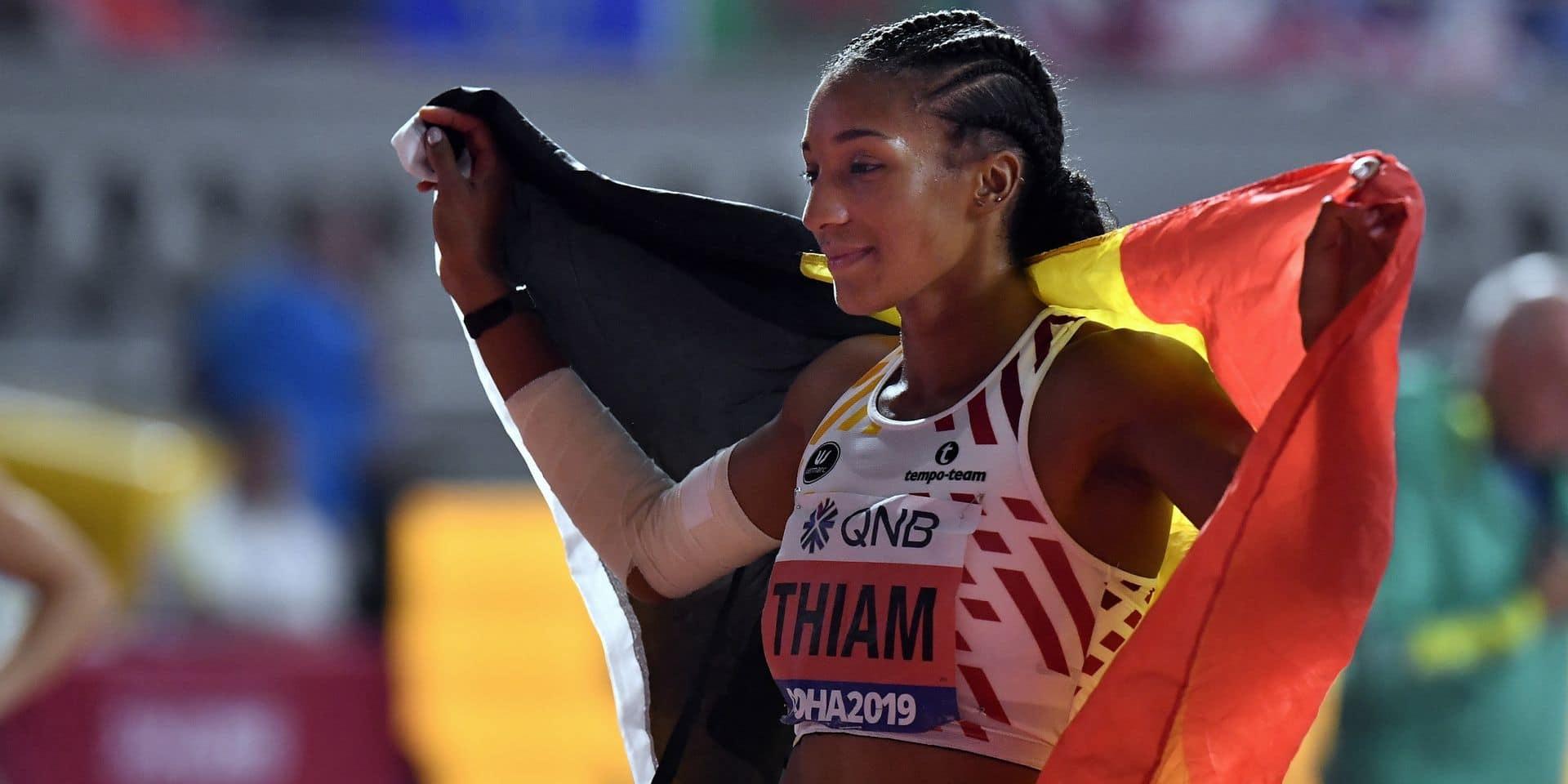 Mondiaux 2019 : Nafi Thiam décroche la médaille d'argent