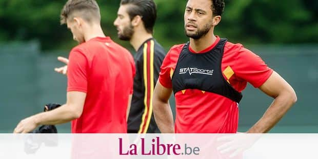 Belgium, Tubize, Jun 05, 2018 - Training of the Belgian soccer team Red Devils to prepare the 2018 FIFA World Cup Russia at the national training center in Tubize, - Moussa Dembele Copyright Danny Gys / Reporters Reporters / GYS