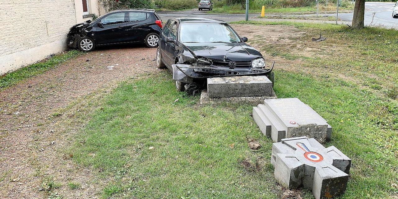 Nivelles: le monument aux soldats français fracassé