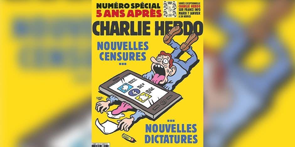 """Pour """"Charlie Hebdo"""", militants et réseaux sociaux sont les nouveaux visages de la censure. Vraiment ?"""