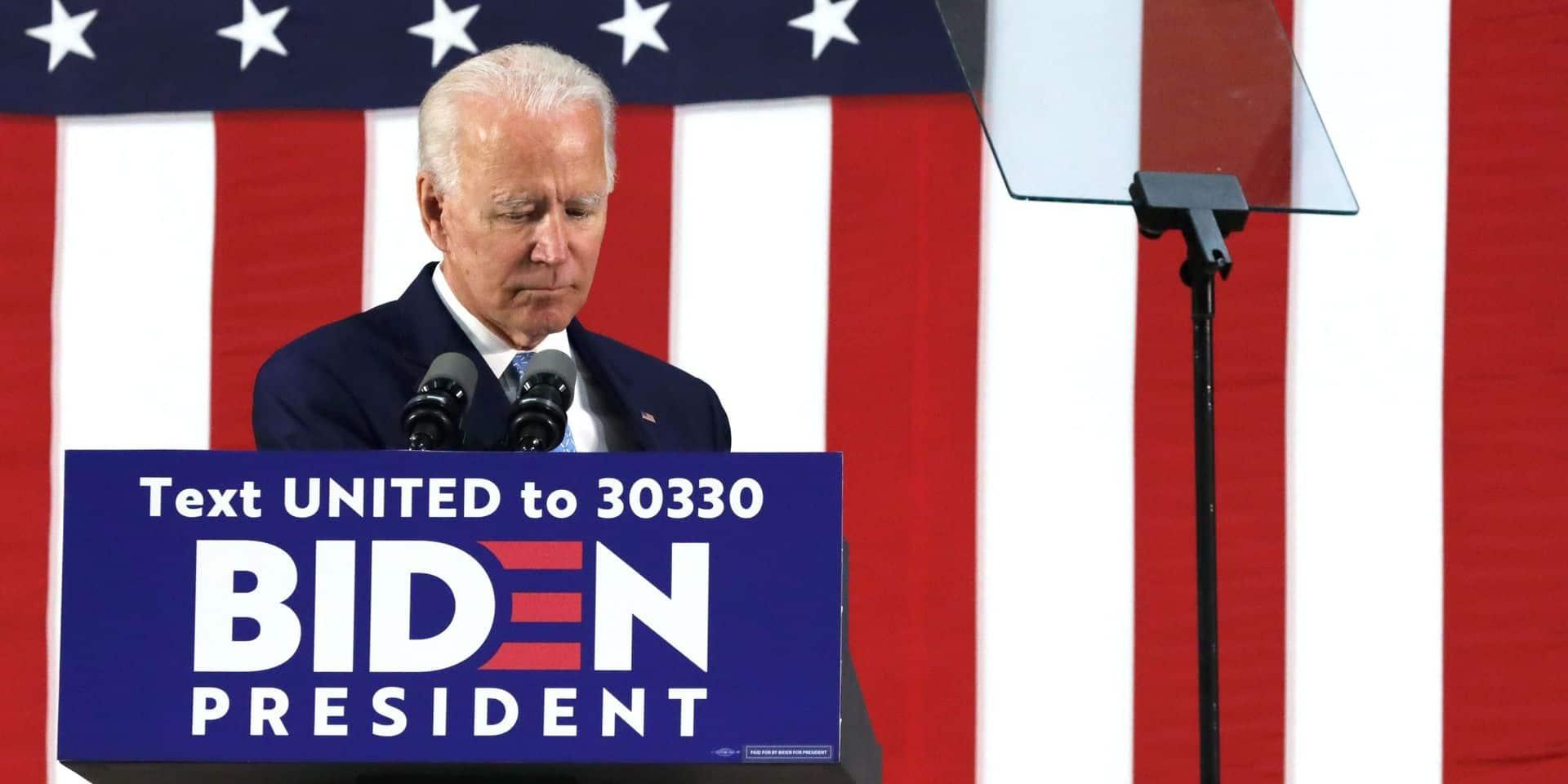 """Biden dénonce la gestion """"lâche"""" par Trump de la crise à Hong Kong"""