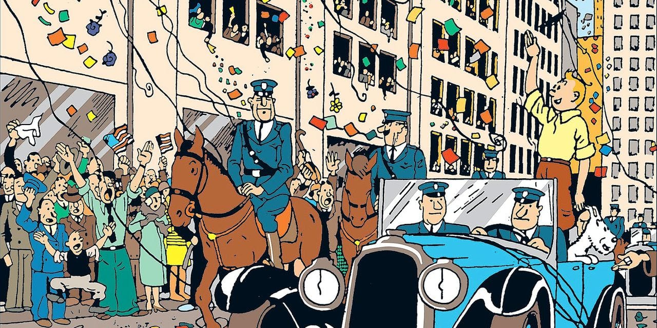 Tintin fête ses 90 ans: comment le petit reporter à la houpette est devenu une star des salles de ventes