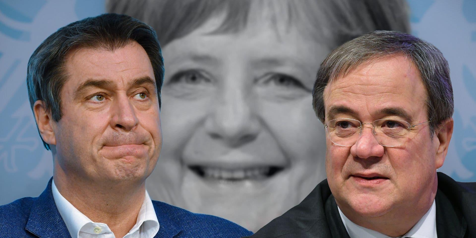 Qui pour succéder à Angela Merkel à la tête des conservateurs ? Le duel est déclaré