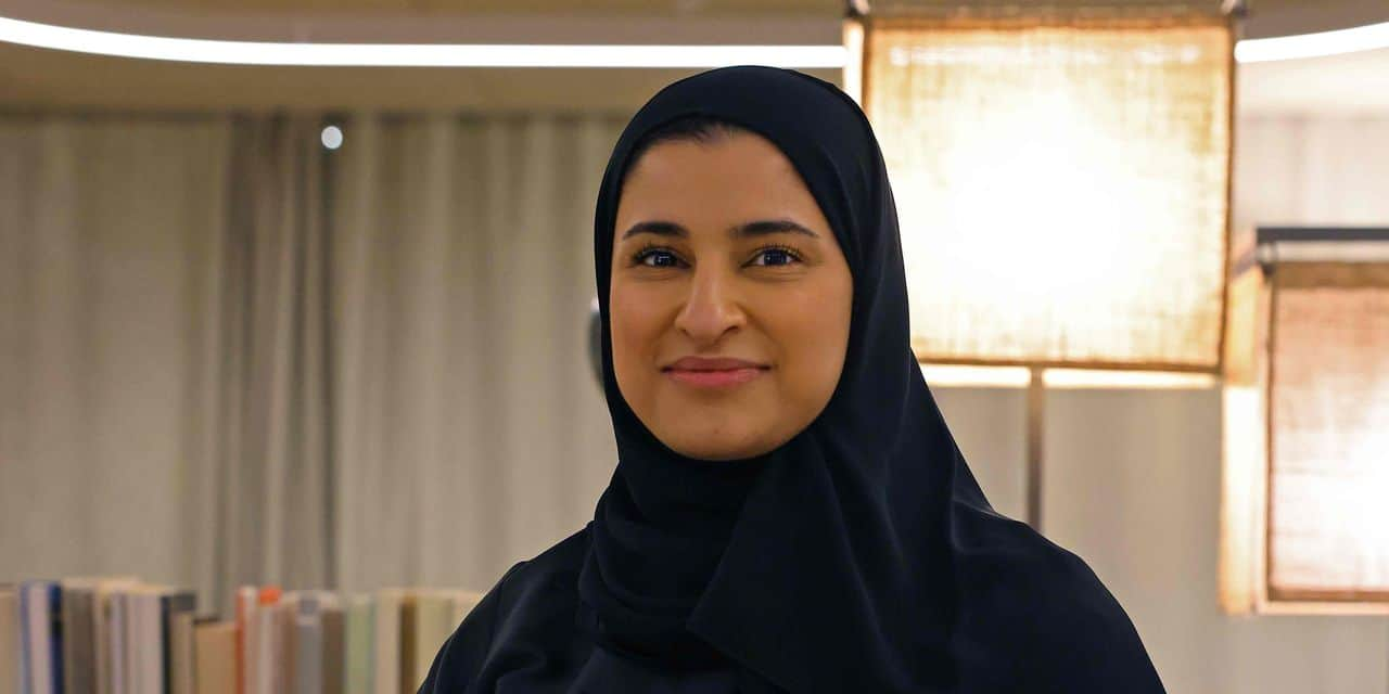 Sarah Al-Amiri, présidente de l'Agence Spatiale des Emirats arabes unis, l'une des femmes les plus... - lalibre.be