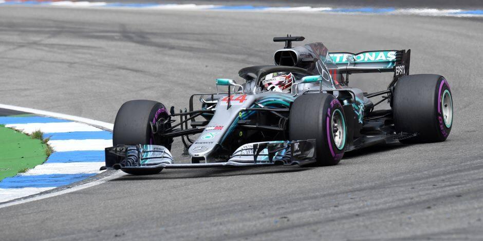 Hamilton a 'continué à y croire', et il a gagné en Allemagne !