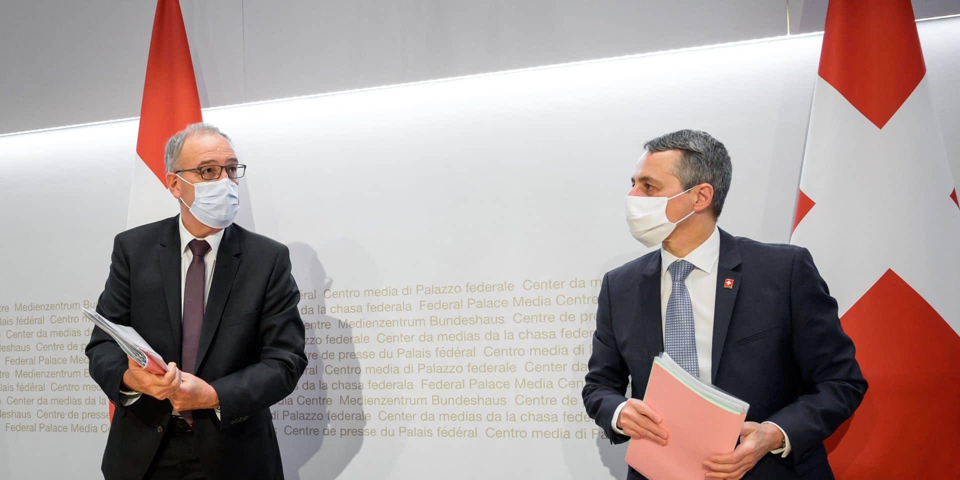 La Suisse ne veut pas d'une relation plus étroite avec l'Union européenne
