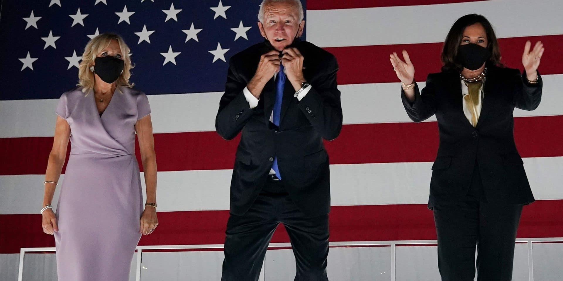 """Mission accomplie pour Joe Biden grâce à une convention sans faute: """"L'actuel président a drapé l'Amérique dans les ténèbres bien trop longtemps"""""""