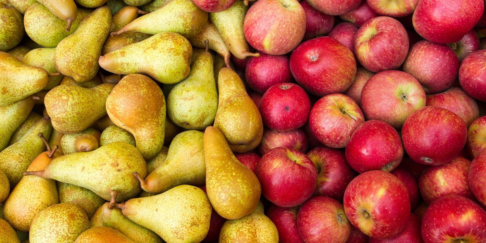 Un flop dans les supermarchés pour les pommes et poires Fairebel