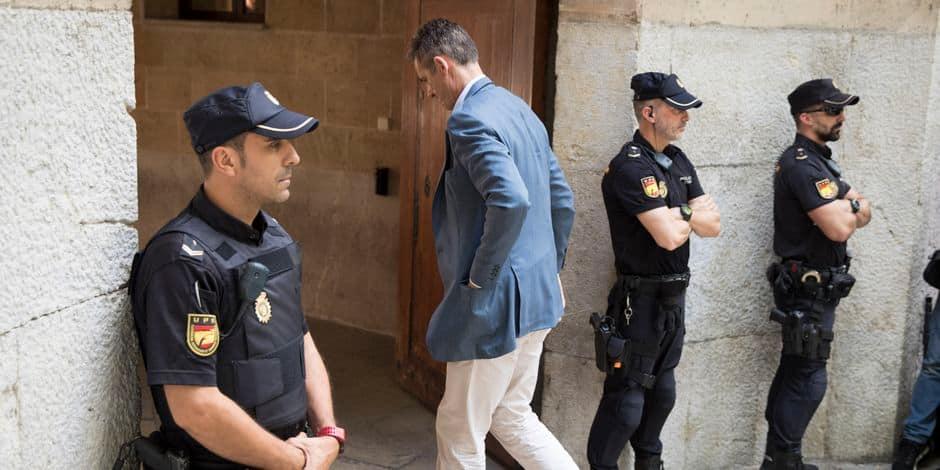 Le beau-frère du roi d'Espagne en prison