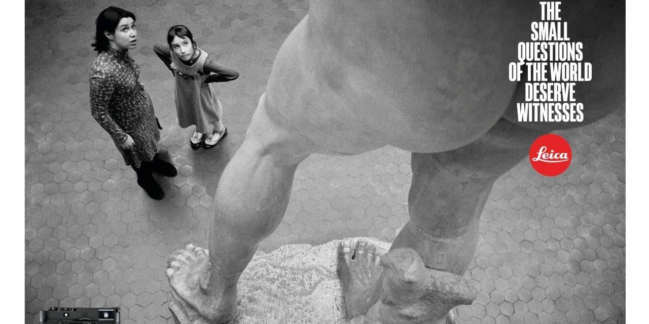 Leica : la marque mythique lance une rare campagne internationale