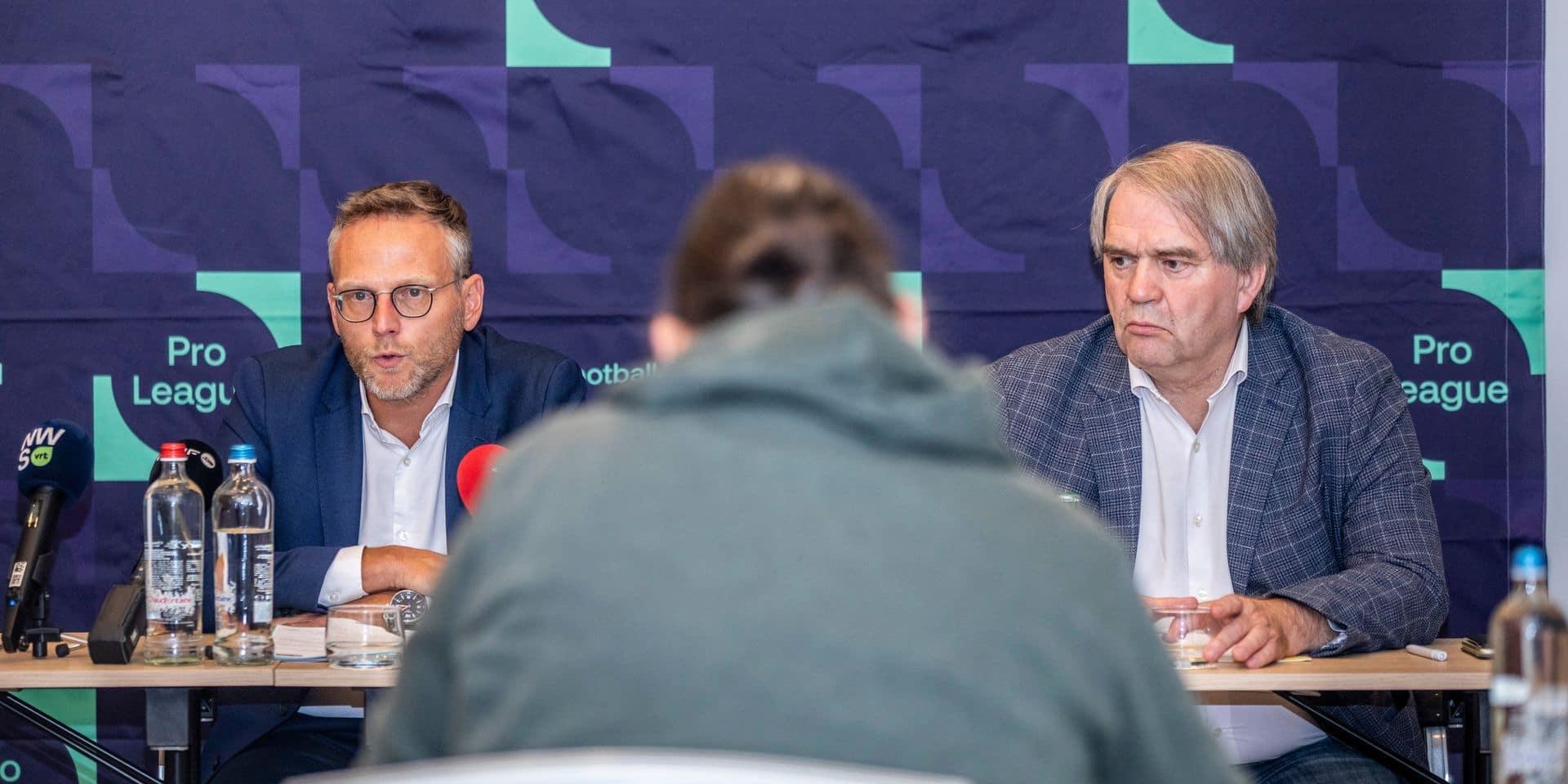 Sous pression, la Pro League ne suivra pas l'avis de la CBAS: le cas de Waasland-Beveren toujours incertain