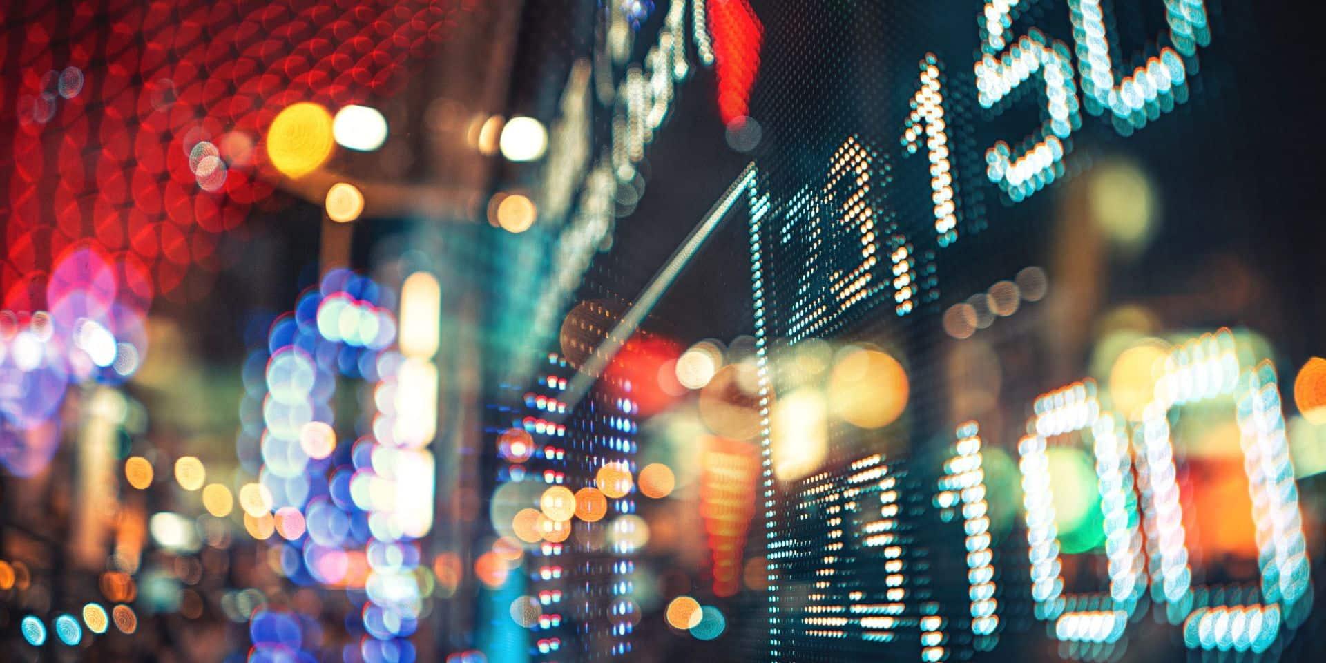 Les Bourses européennes en recul, le BEL 20 se maintient au-dessus des 3 800 points