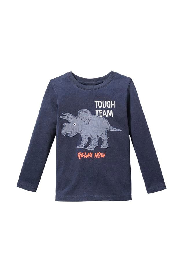 T-shirt manches longues, C&A coll. back to school, 4.90€