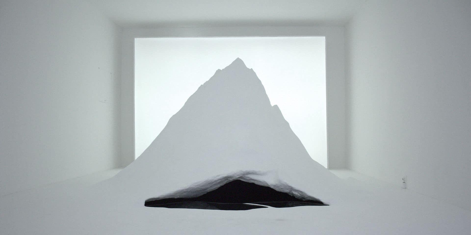 L'installation de Justine Bougerol nous conduit dans les entrailles d'un horizon contemplatif